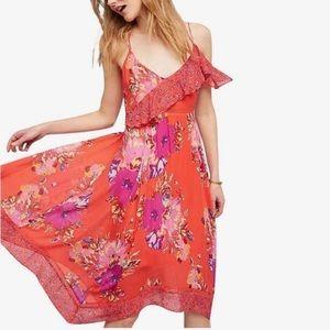 ANTHROPOLOGIE [Maeve] Grecia ruffle dress
